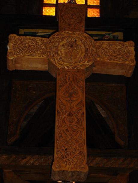 Norwegische Stabkirche - Impression 1