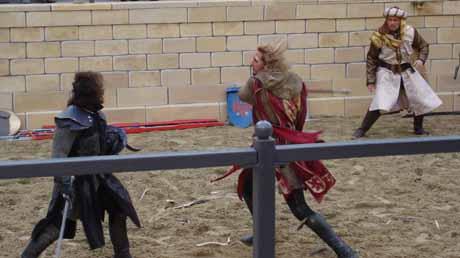 Der Kampf der edlen Ritter