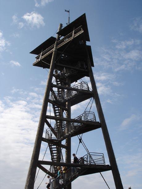 """Der Aussichtsturm auf dem """"Schauinsland"""""""