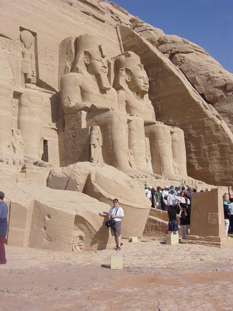 Der Tempel des Ramses II. von Abu Simbel