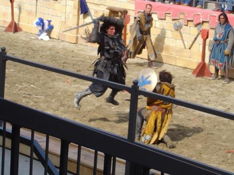 """Duell der Brüder"" - Rittershow im Europa-Park"