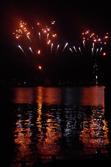 Feuerwerk Seenachtfest Konstanz