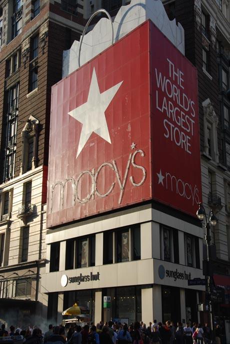 "Das Kaufhaus ""Macy's"" in New York. Fotografin: Gaby Maushake"