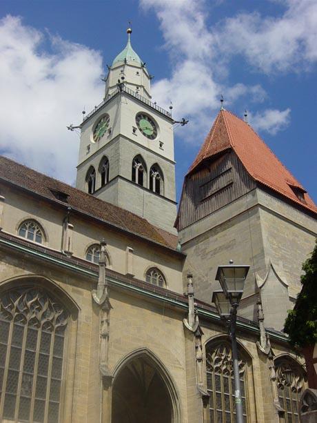 Das Münster in Überlingen am Bodensee
