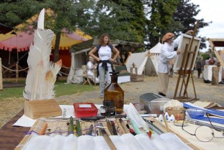 Mittelaltermarkt im Schlosspark vom Europa-Park