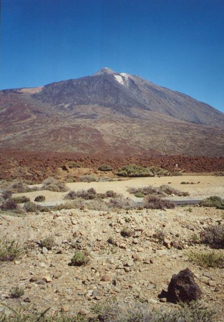 Der Gipfel des Teide auf Teneriffa.