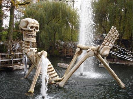 Halloween-Saison im Europa-Park.