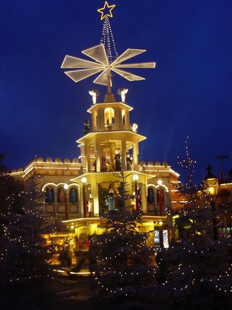 Weihnachtszeit im Europa-Park.