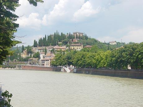 Anblick von Verona, Italien