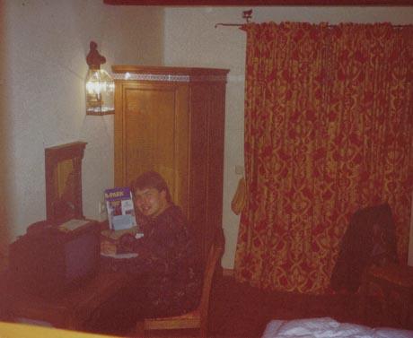 """Ich bei meinen allerersten Besuch im Hotel """"El Andaluz"""" 1995."""