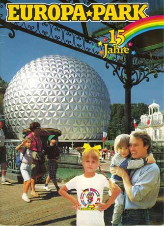 Europa-Park Broschüre 1990 / (c) by Europa-Park