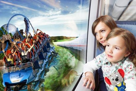 Mit der Deutschen Bahn in den Europa-Park / (c) by Europa-Park