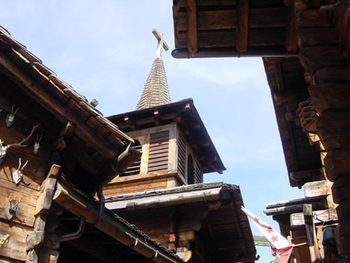 Schweizer Dorf im Europa-Park.