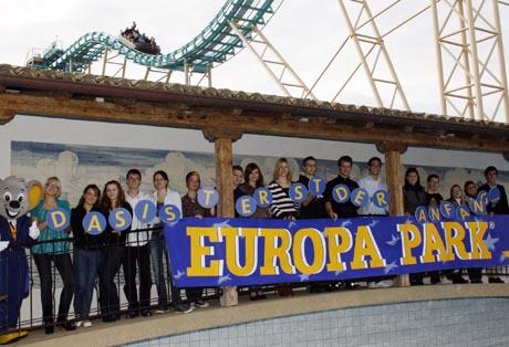 Die neuen Auszubildenden des Europa-Park 2010 / (c) by Europa-Park