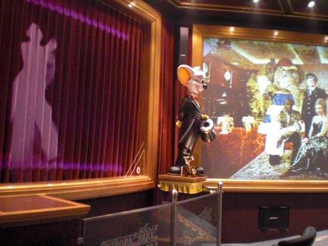 Die neu gestalteten Räume im Drehtheater der Historama-Show.