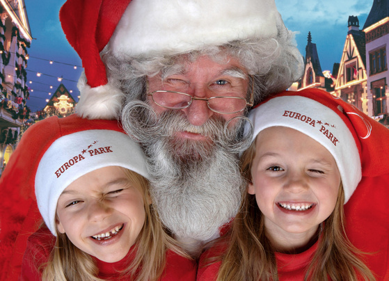 Der Weihnachtsmann im Europa-Park. / (c) by Europa-Park