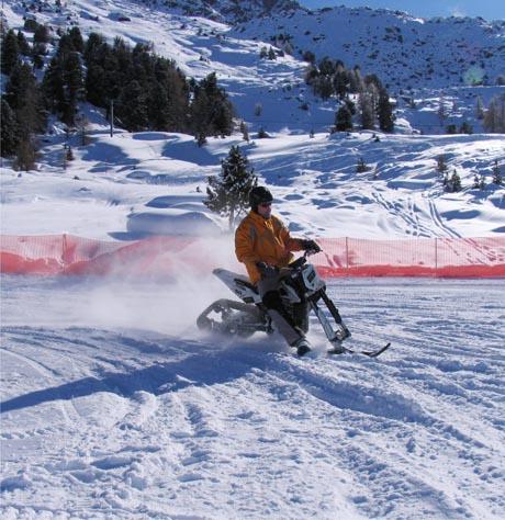 snowXbike in Engelberg / (c) by www.snowxpark.ch
