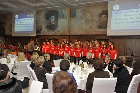 Charity-Mittagessen zugunsten des Deutschen Kinderschutzbundes / (c) by Europa-Park