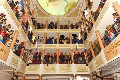 Die Narren sind los im Hotel Colosseo / (c) by Europa-Park