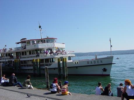 """Die """"Weiße Flotte"""" auf dem Bodensee."""