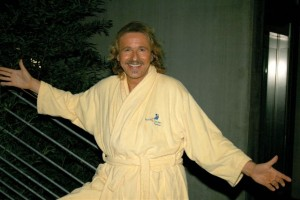 Thomas Gottschalk in der Bodensee-Therme Überlingen / (c) Bodensee-Therme Überlingen