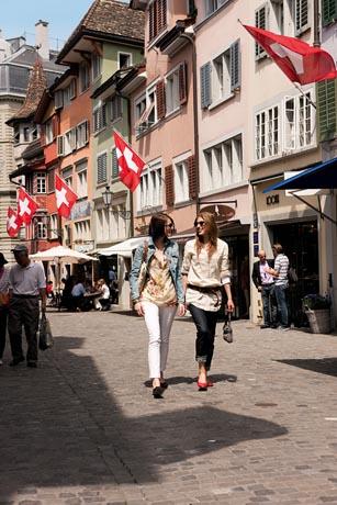 Schweizer Städte / Foto: Switzerland Tourism, ST/swiss-image.ch / Gian Marco Castelberg & Maurice Haas