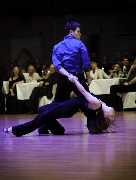 Top-Choreografen des West Coast Swing aus den USA: Ben Morris und Melissa Rutz im Europa-Park Dome / (c) Europa-Park
