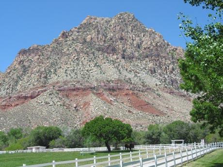 Die Berge Nevadas.