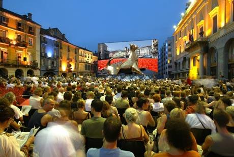 Internationales Filmfestival Locarno.  / Bild (c): Ticino Turismo / swiss-image.ch