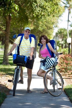 Unterwegs auf zwei Rädern: Urlaub mit dem Fahrrad wird immer beliebter. Foto: djd/www.reisemesse.de