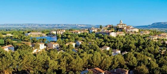 Das Ferienresort Pont-Royal en Provence. Bild: Pierre & Vacances.