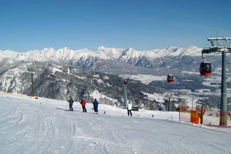 Dank seiner Höhenlage ist im Lungau Schneemangel kein Thema. Foto: djd/Tourismusverband Mauterndorf