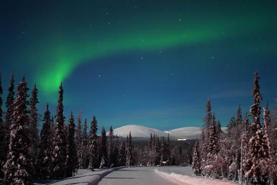 Polarlicht in Finnisch Lappland © MEK