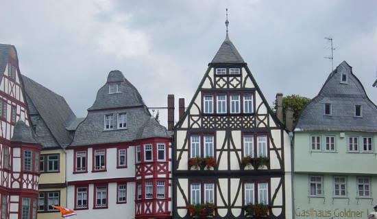 Die Altstadt von Limburg an der Lahn