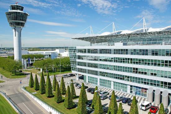 Der Flughafen München. Bild (c) Flughafen München GmbH