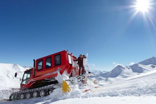 Mit dem Pistenbully auf fast 3.000 Meter Höhe in Serfaus-Fiss-Ladis - Bild (c) www.foto-mueller.com