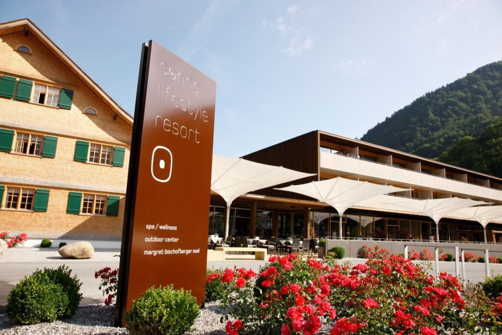 Das Sonne Lifestyle Resort im Bregenzerwald. Bild: SPApress