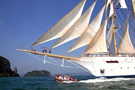 Neue Routen für Kuba, Thailand, Indonesien, Mittelmeer und die Karibik. Bild: Star Clippers