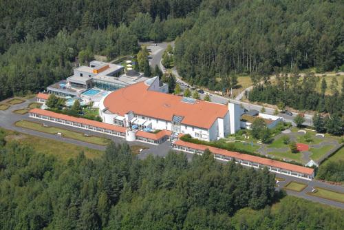 Das Sibyllen-Bad aus der Luft. Foto: obx-news/Gemeinde Neualbenreuth/Ascherl