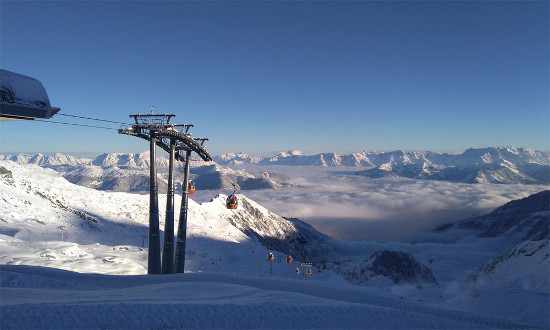 Kitzsteinhorn in Zell am See / Kaprun. Bild: Snowplaza