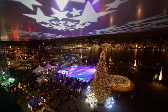 Weihnachten in Luzern. Bild © Luzern Tourismus