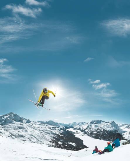 Der Schweizer Winter am Corvatsch. Bild © Schweiz Tourismus / Stephan Schacher