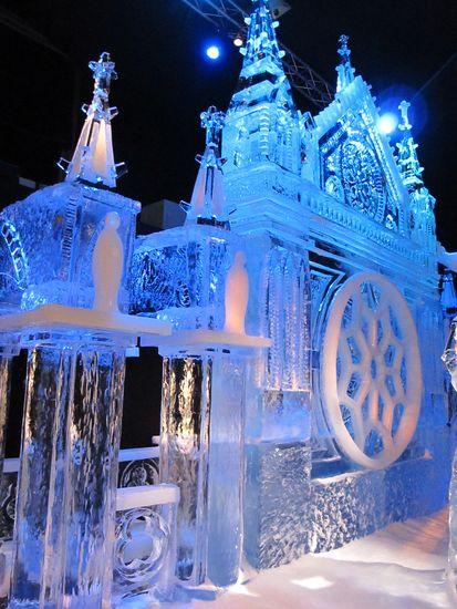 Niederländisches Eisskulpturen-Festival. Bild: Niederländisches Büro für Tourismus & Convention (NBTC)