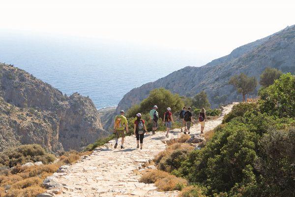 Wandern auf Kreta. Bild: Frosch Sportreisen GmbH