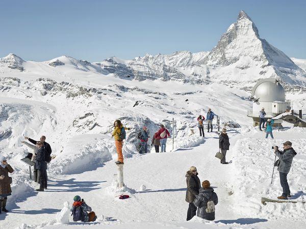 "Gornergrat, Zermatt 2016 aus dem Projekt ""Fremdvertraut"" Bild Copyright Simon Roberts"