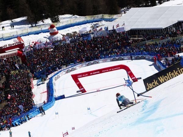 Ski-WM in St. Moritz. Bild  Copyright: Agence Zoom / Alexis Boichard