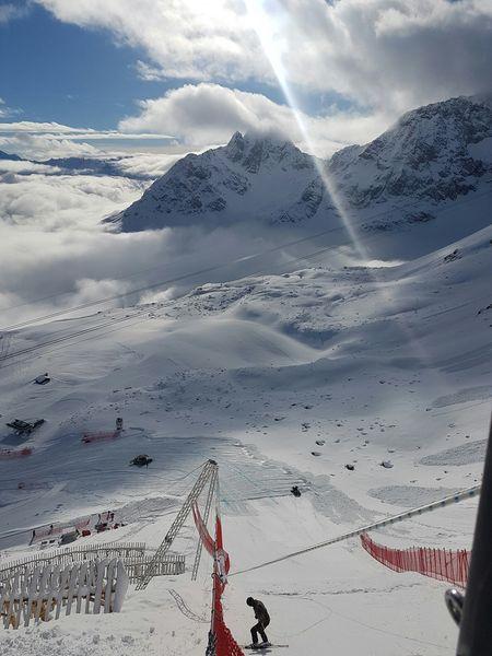 Gesicherter Rutscher am Freien Fall - Bild (c) Engadin St. Moritz Mountains