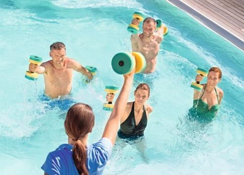 Bewegungskurse im Urlaub - Schlüssel zu mehr Fitness im Alltag. Foto: Kur- und GästeService Bad Füssing