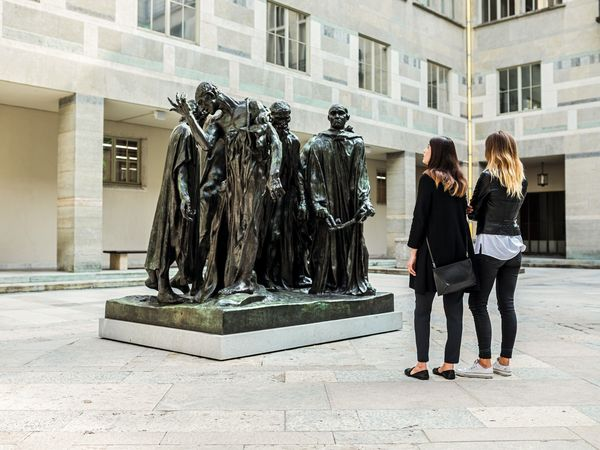 """A. Rodin: Les Bourgeois de Calais"" in Basel. Bild (c) Schweiz Tourismus"