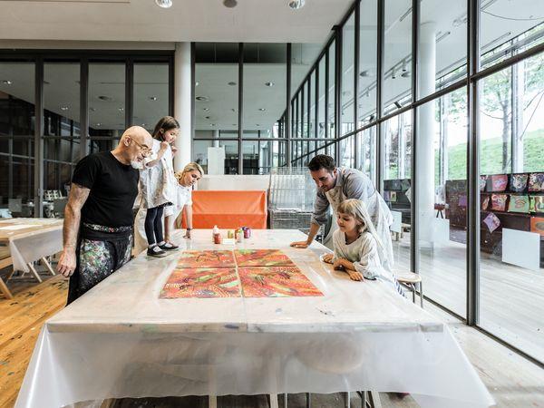Workshop im Zentrum Paul Klee, Bern Bild (c) Schweiz Tourismus